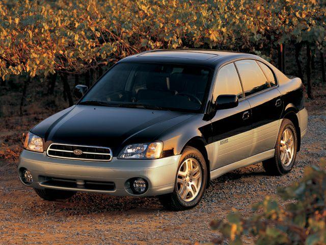 2002 Subaru Outback Exterior Photo