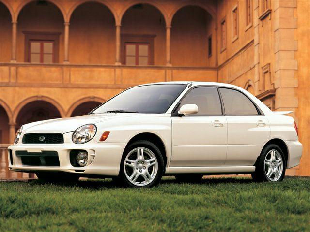 2002 Subaru Impreza Exterior Photo