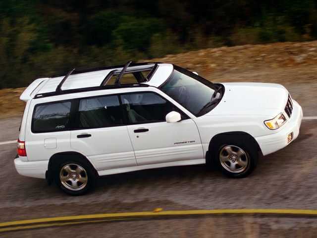 2002 Subaru Forester Exterior Photo