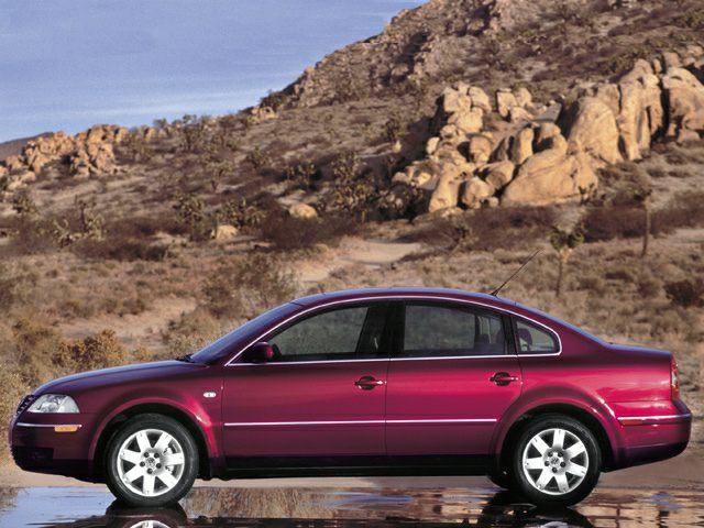 2002 Volkswagen Passat Exterior Photo