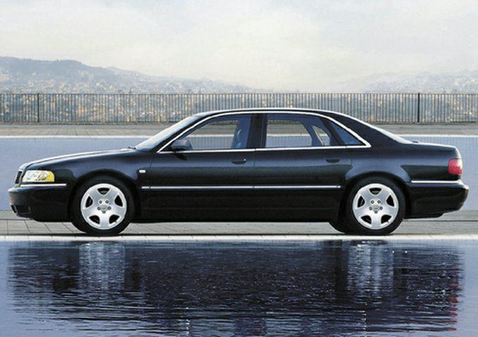 2003 Audi A8 Exterior Photo