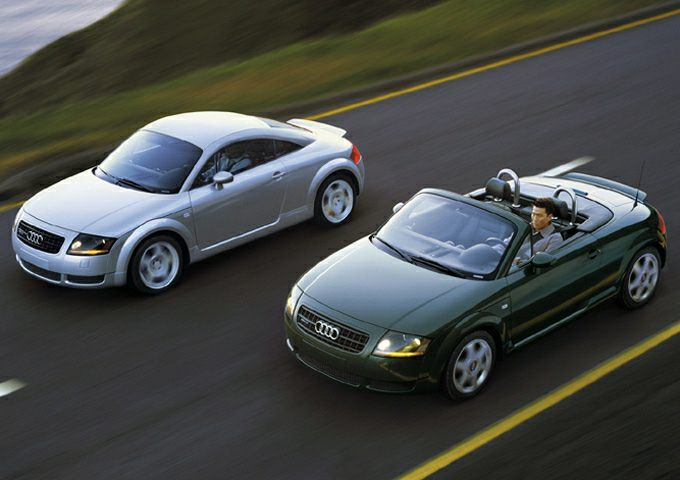 2003 Audi TT Exterior Photo