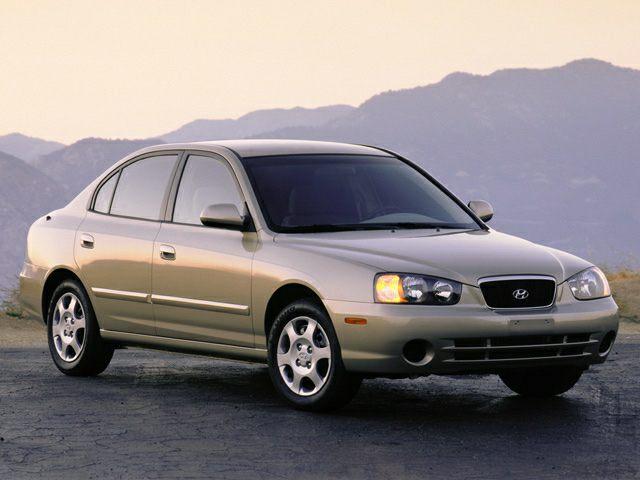 2003 Hyundai Elantra Exterior Photo