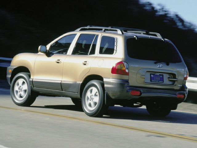 2003 Hyundai Santa Fe Exterior Photo