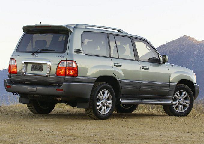 2003 Lexus LX 470 Exterior Photo