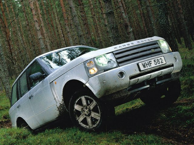 2003 Land Rover Range Rover Exterior Photo