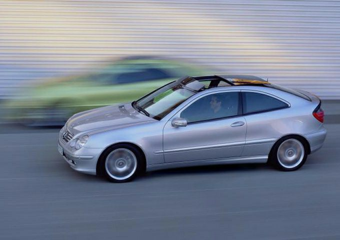 2003 Mercedes Benz C Class Kompressor Sport C230 2dr Coupe