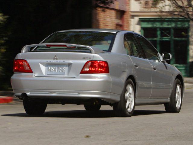 2003 Mitsubishi Galant Exterior Photo