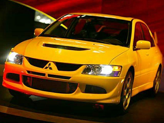 2003 Mitsubishi Lancer Exterior Photo