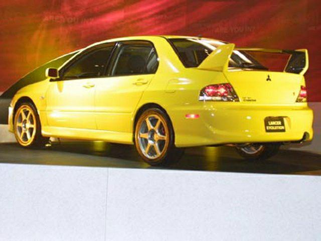 2003 Mitsubishi Lancer Evolution Exterior Photo
