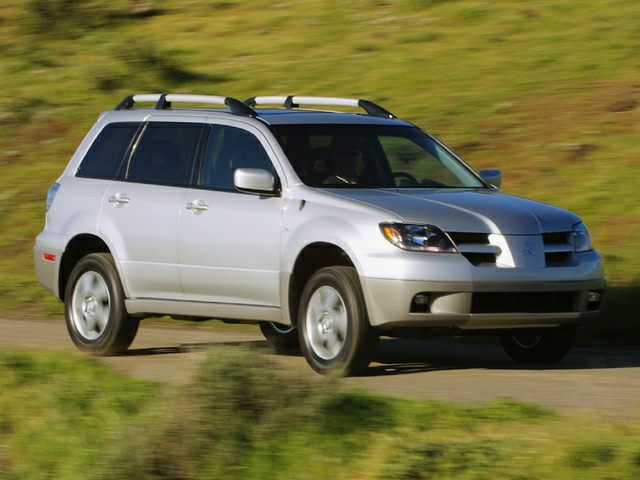 2003 Mitsubishi Outlander Exterior Photo