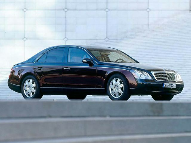 2003 Maybach 57 Exterior Photo