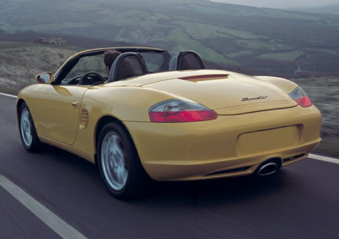 2003 Porsche Boxster Exterior Photo