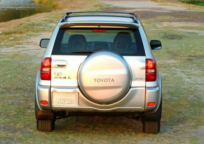 2004 Toyota RAV4 Exterior Photo