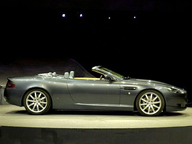2005 Aston Martin DB9 Exterior Photo
