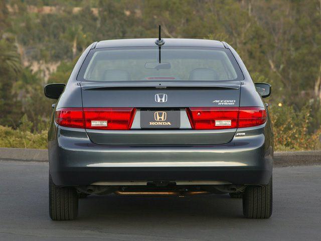 2005 Honda Accord Exterior Photo