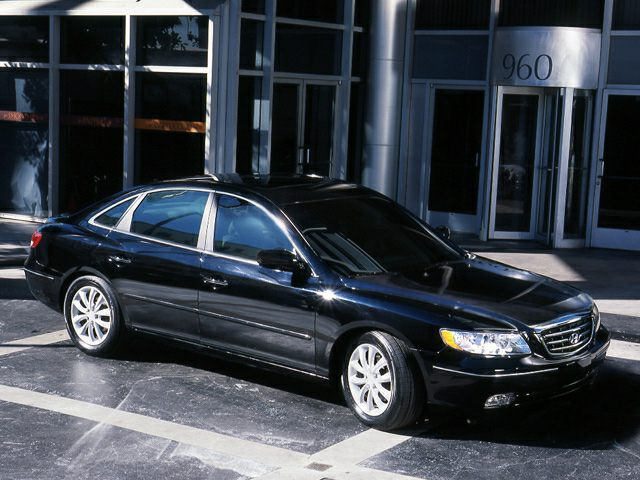 2006 Hyundai Azera Exterior Photo