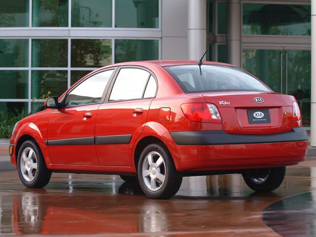2006 Kia Rio Exterior Photo