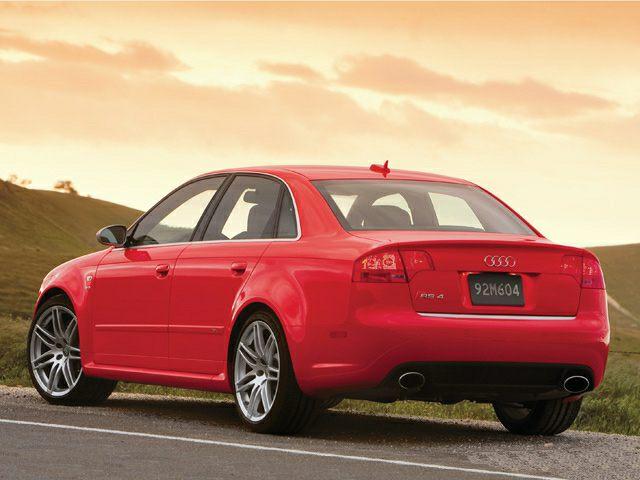 2007 Audi RS 4 Exterior Photo
