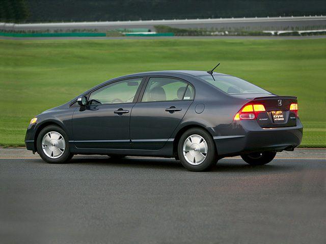 2007 Honda Civic Hybrid Exterior Photo