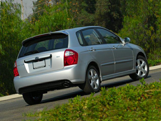 2007 Kia Spectra5 Exterior Photo