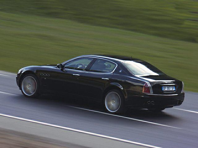 2007 Maserati Quattroporte Exterior Photo