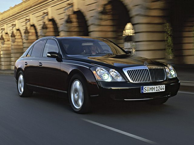 2008 Maybach 57 Exterior Photo