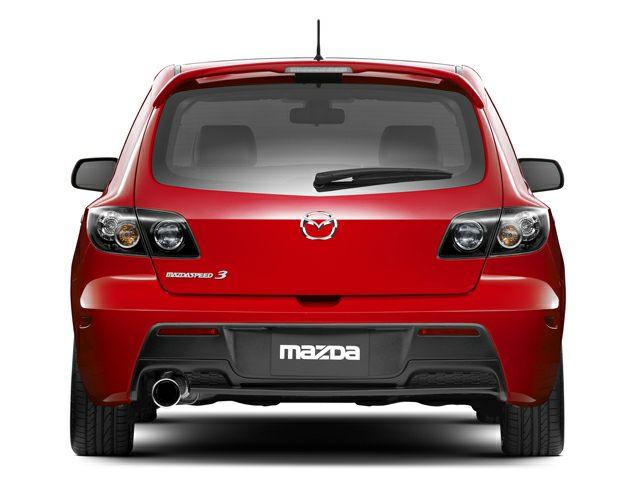 2009 Mazda MAZDASPEED3 Exterior Photo