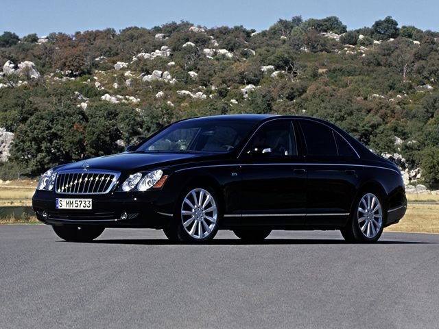 2010 Maybach 57 Exterior Photo