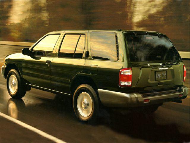 1999.5 Nissan Pathfinder Exterior Photo