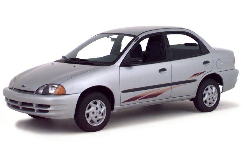 2000 Chevrolet Metro Exterior Photo