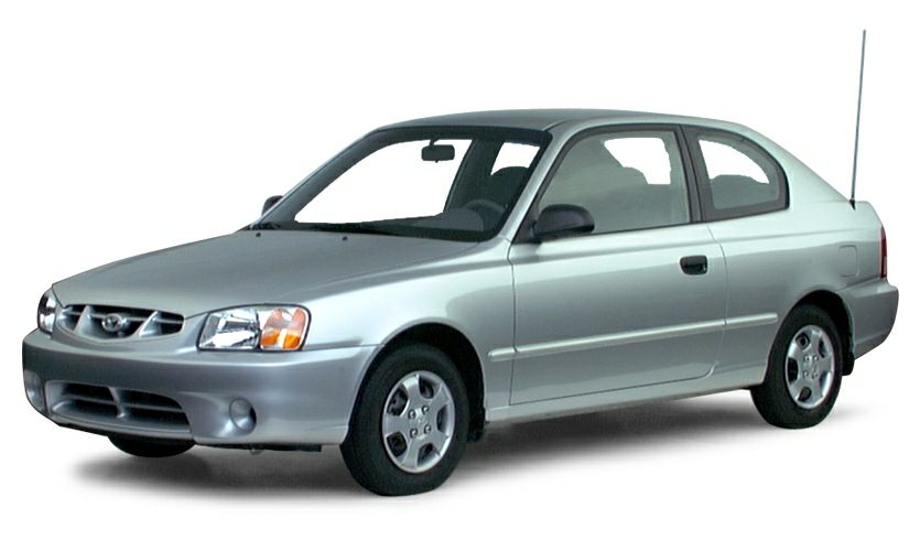 2000 Hyundai Accent Exterior Photo