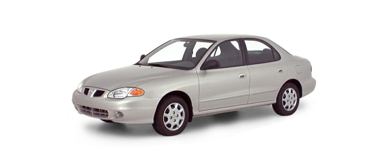 2000 Hyundai Elantra Exterior Photo