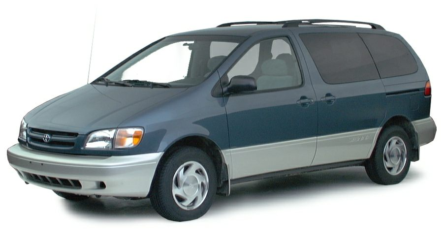 2000 Toyota Sienna Exterior Photo