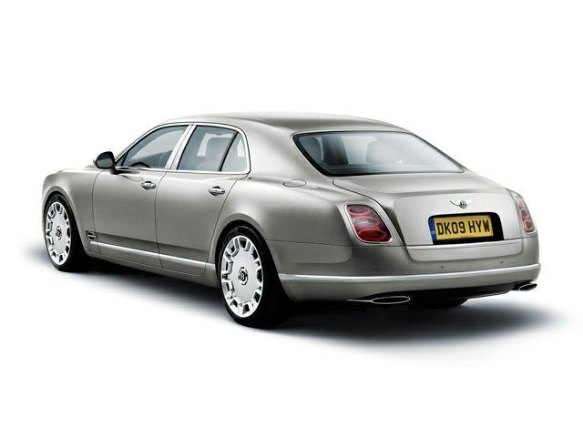 2012 Bentley Mulsanne Exterior Photo