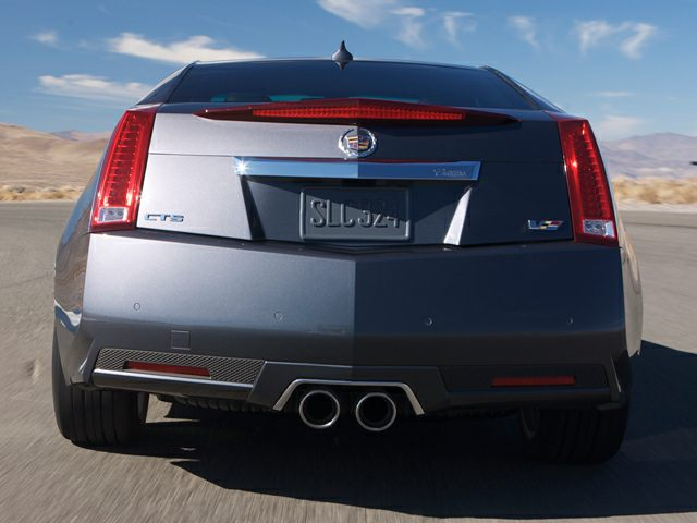2012 Cadillac CTS-V Exterior Photo