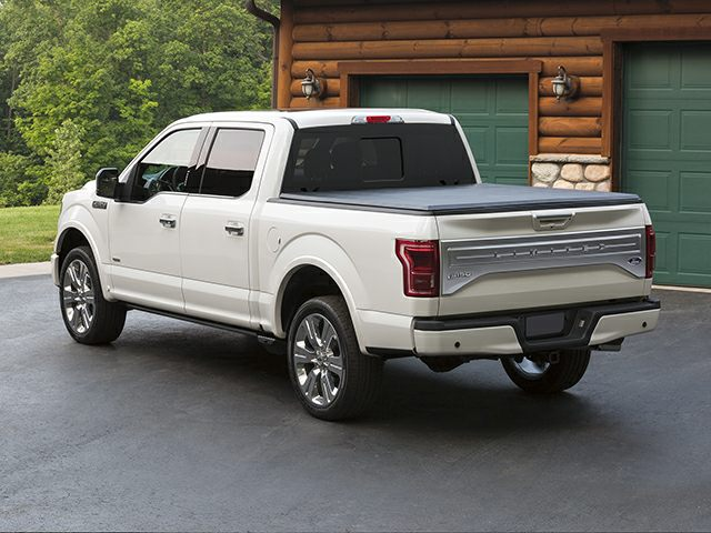 2016 Ford F-150 Limited 4x4 SuperCrew Cab Styleside 5.5 ft. box 145 in ...