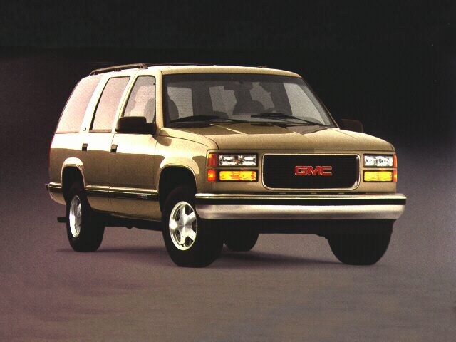 1999 GMC Yukon Exterior Photo