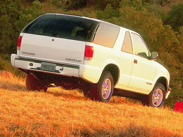 1999 Chevrolet Blazer Exterior Photo
