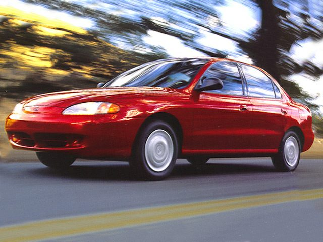 1999 Hyundai Elantra Exterior Photo