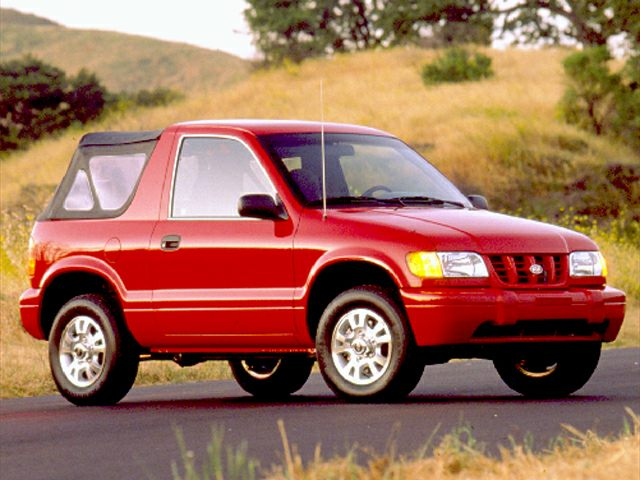 1999 Kia Sportage Exterior Photo