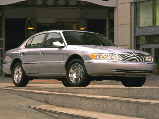 1999 Lincoln Continental Exterior Photo