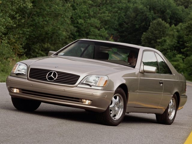 1999 Mercedes-Benz CL-Class Exterior Photo