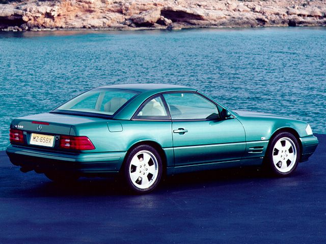 1999 Mercedes-Benz SL-Class Exterior Photo