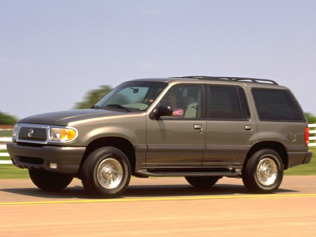 1999 Mercury Mountaineer Exterior Photo