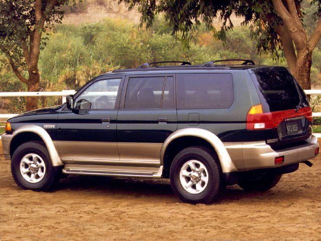 1999 Mitsubishi Montero Sport Exterior Photo