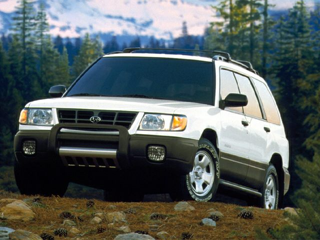 1999 Subaru Forester Exterior Photo