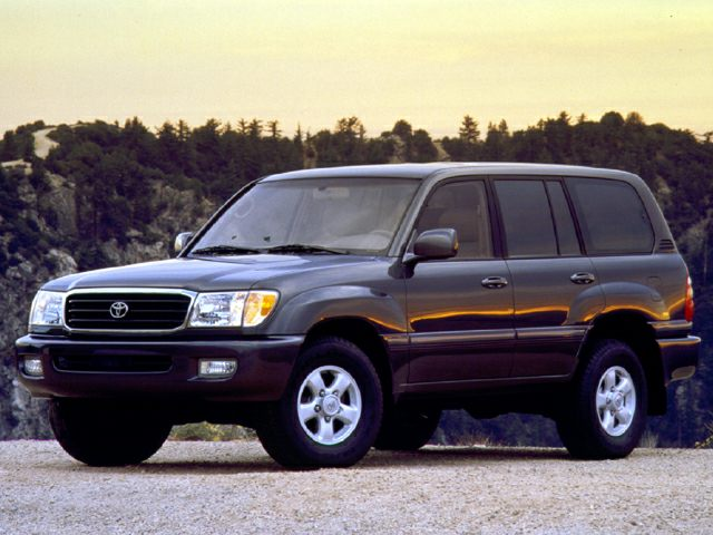 1999 Toyota Land Cruiser Exterior Photo