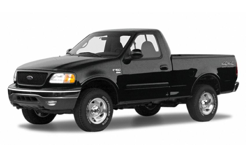 2000 ford f 150 xlt 4x4 regular cab styleside 120 2 in wb. Black Bedroom Furniture Sets. Home Design Ideas