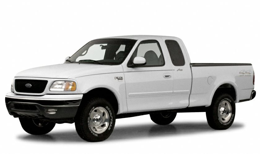 2000 Ford F 150 Lariat 4x2 Super Cab Styleside 157 1 In Wb Information